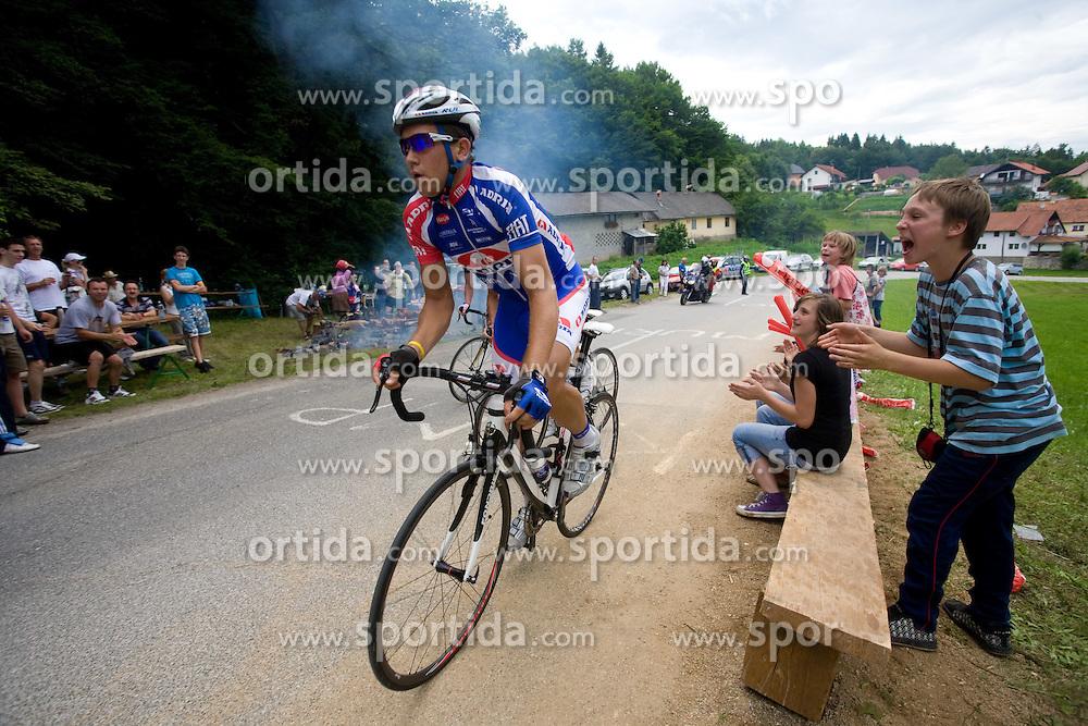 Kristjan Fajt at Slovenian National Championships in Road cycling, 178 km, on June 28 2009, in Mirna Pec, Slovenia. (Photo by Vid Ponikvar / Sportida)