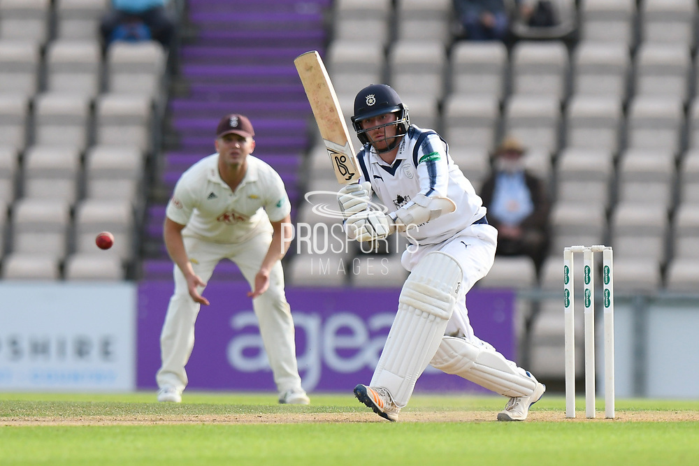 Liam Dawson of Hampshire batting during the Specsavers County Champ Div 1 match between Hampshire County Cricket Club and Surrey County Cricket Club at the Ageas Bowl, Southampton, United Kingdom on 6 September 2017. Photo by Graham Hunt.