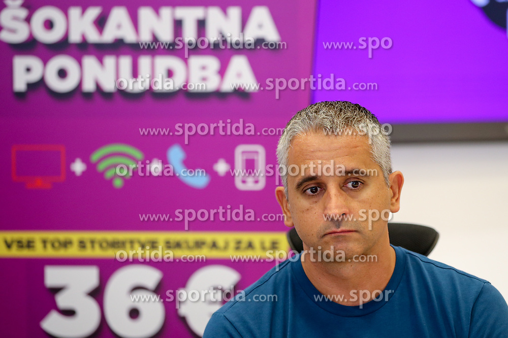 Igor Kokoskov at press conference of Slovenian national team before Eurobasket 2017, on August 28, 2017 in Telemach, Ljubljana, Slovenia. Photo by Matic Klansek Velej / Sportida