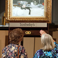 The star of the show, 'Still Life with Coffe Pot' by Samuel John Peploe which Sotheby's hope will fetch over £470,000 when it is auctioned this evening, breaking the previous Scottish record<br />