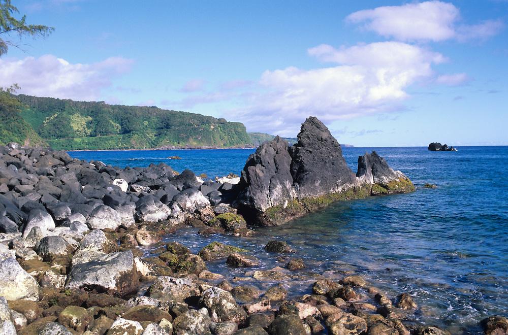 Hawaii, Maui, The Valley Island, Keanae view