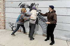 OCT 17 2013 Banksy Tagger Caught