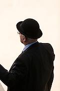 Ringmeester<br /> Faderpaard / Friese Hengstenkeuring 2016<br /> © DigiShots