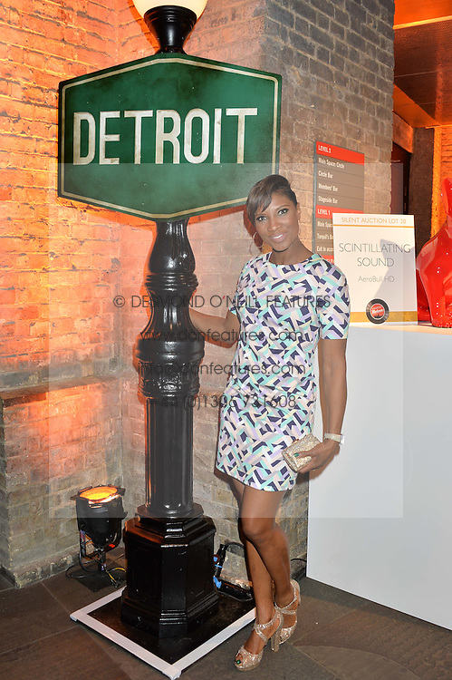 DENISE LEWIS at A Night of Motown in aid of Save The Children UK held at The Roundhouse, Chalk Farm Road, London on 3rd March 2016.