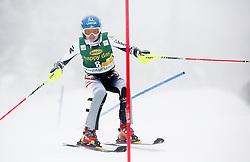 SCHILDBernadette of Austria competes during 1st Run of 50th Golden Fox Audi Alpine FIS Ski World Cup Ladies Slalom, on February 2, 2014 in Podkoren, Kranjska Gora, Slovenia. (Photo By Matic Klansek Velej / Sportida.com)