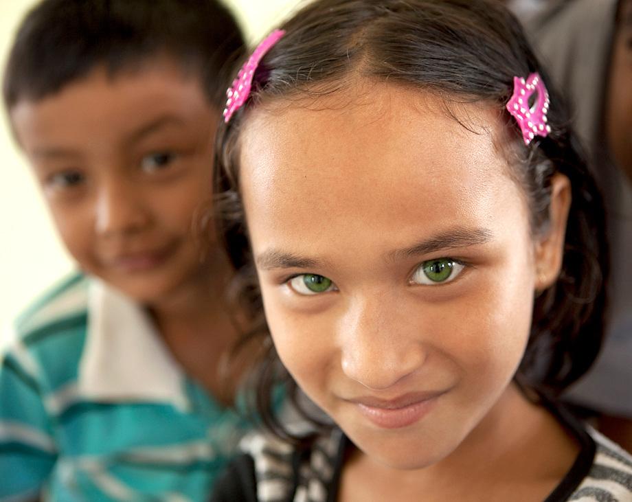 Girl at the Kopila Valley Primary School, Surkhet, Nepal