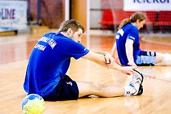 Uros Rapotec  at practice of Slovenian Handball Men National Team, on June 4, 2009, in Arena Kodeljevo, Ljubljana, Slovenia. (Photo by Vid Ponikvar / Sportida)