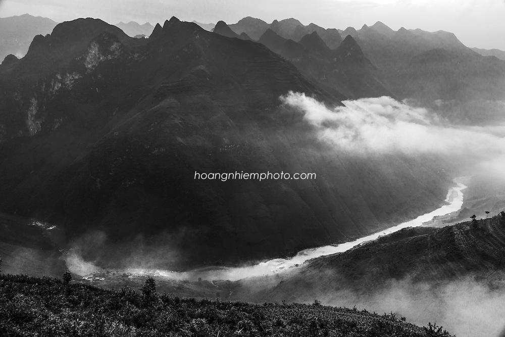 Vietnam Images-landscape Ha Giang-Mapileng pass-Mèo Vạc hoàng thế nhiệm
