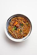sesame garlic noodles from honeygrow test kitchen ($9.99)