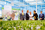 7-3-2018 WESTLAND - Koningin Maxima opent woensdagmorgen 7 maart 2018 het internationale kennis- en innovatiecentrum voor de glastuinbouw, het World Horti Center in Westland. Bij de opening is ook minister Schouten van Landbouw, Natuur en Voedselkwaliteit aanwezig. COPYRUGHT ROBIN UTRECHT<br /> <br /> 7-3-2018 WESTLAND - Queen Maxima opens Wednesday March 7, 2018 the international knowledge and innovation center for greenhouse horticulture, the World Horti Center in Westland. Minister Schouten of Agriculture, Nature and Food Quality will also be present at the opening. COPYRIGHT ROBIN UTRECHT