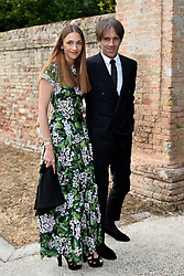Guests are seen arriving at the wedding of American actress Jessica Chastain and Gian Luca Passi de Preposulo at Villa Tiepolo Passi in Carbonera, Italy. 10 Jun 2017 Pictured: Davide Oldani. Photo credit: M. Angeles Salvador/MEGA TheMegaAgency.com +1 888 505 6342
