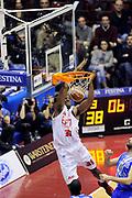 DESCRIZIONE : Milano Coppa Italia Final Eight 2014 Quarti Olimpia EA7 Milano Banco di Sardegna Sassari<br /> GIOCATORE : Gani Lawal<br /> CATEGORIA : schiacciata<br /> SQUADRA : Olimpia EA7 Milano<br /> EVENTO : Beko Coppa Italia Final Eight 2014 <br /> GARA : Olimpia EA7 Milano Banco di Sardegna Sassari<br /> DATA : 07/02/2014 <br /> SPORT : Pallacanestro <br /> AUTORE : Agenzia Ciamillo-Castoria/N.Dalla Mura<br /> GALLERIA : Lega Basket Final Eight Coppa Italia 2014 <br /> FOTONOTIZIA : Milano Coppa Italia Final Eight 2014 Quarti Olimpia EA7 Milano Banco di Sardegna Sassari
