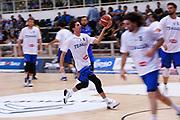 Amedeo Della Valle<br /> Nazionale Italiana Maschile Senior - Trentino Basket Cup 2017<br /> Italia - Paesi Bassi / Italy - Netherlands<br /> FIP 2017<br /> Trento, 30/07/2017<br /> Foto Agenzia Ciamillo-Castoria
