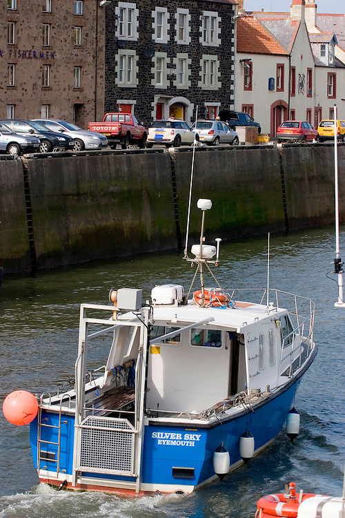 Port of Eyemouth, Scottish Borders in Scotland