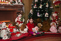 Opening night for Christmas Village at the Laconia Community Center.  Karen Bobotas for the Laconia Daily Sun