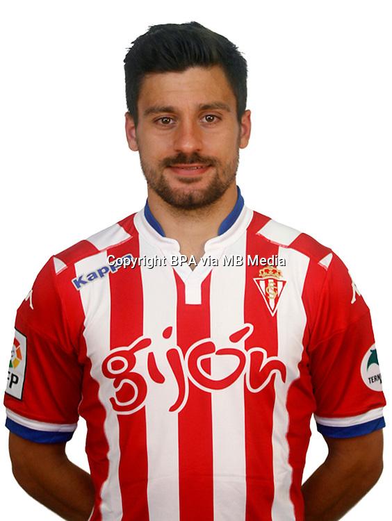 Spain - Liga BBVA 2015-2016 / <br /> ( Real Sporting de Gijon ) - <br /> Roberto Canella Suarez
