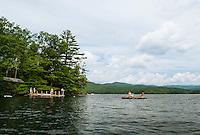 Squam Lake, New Hampshire.  Karen Bobotas Photographer