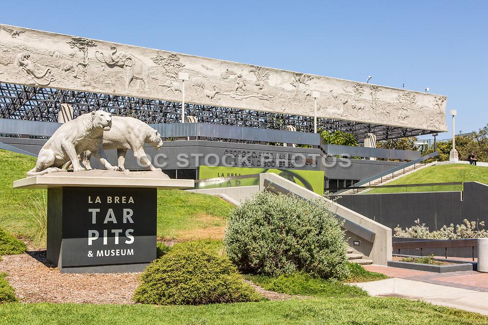 La Brea Tar Pits and Museum Entrance