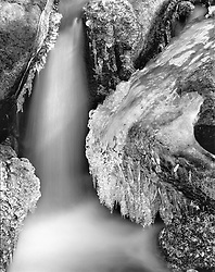 Ice Falls, Sangre de Cristo Mountains, San Luis Valley, Colorado