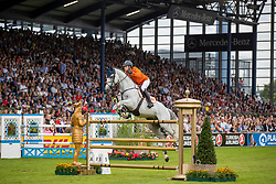 Kuipers Doron, NED, Charley<br /> CHIO Aachen 2019<br /> Weltfest des Pferdesports<br /> © Hippo Foto - Stefan Lafrentz<br /> Kuipers Doron, NED, Charley