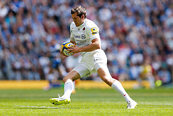 Saracens Full Back Alex Goode - Photo mandatory by-line: Rogan Thomson/JMP - 07966 386802 - 30/05/2015 - SPORT - RUGBY UNION - London, England - Twickenham Stadium - Bath Rugby v Saracens - 2015 Aviva Premiership Final.