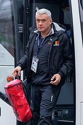 08–01-2020 NED: Olympic qualification tournament women, Apeldoorn<br /> Belgium - Germany / Head coach Gert van de Broek