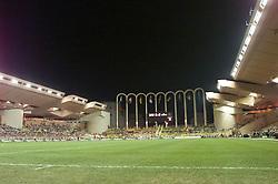 MONACO, FRANCE - Friday, August 24, 2001: The Stade Louis II Stadium. (Pic by David Rawcliffe/Propaganda)