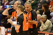 DESCRIZIONE : Pistoia Lega serie A 2013/14  Giorgio Tesi Group Pistoia Pesaro<br /> GIOCATORE : arbitri<br /> CATEGORIA : time out<br /> SQUADRA : Giorgio Tesi Group Pistoia<br /> EVENTO : Campionato Lega Serie A 2013-2014<br /> GARA : Giorgio Tesi Group Pistoia Pesaro Basket<br /> DATA : 24/11/2013<br /> SPORT : Pallacanestro<br /> AUTORE : Agenzia Ciamillo-Castoria/M.Greco<br /> Galleria : Lega Seria A 2013-2014<br /> Fotonotizia : Pistoia  Lega serie A 2013/14 Giorgio  Tesi Group Pistoia Pesaro Basket<br /> Predefinita :