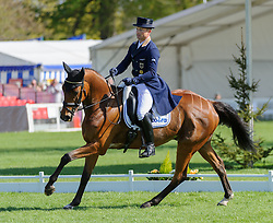World and European Champion Michael Jung of Germany and his horse LA BIOSTHETIQUE - SAM FRW lead after the Dressage phase of the Mitsubishi Motors Badminton Horse Trials, Saturday May 4th 2013. Photo by:  Nico Morgan / i-Images