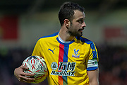 Crystal Palace midfielder Luka Milivojevic (4) during the The FA Cup 5th round match between Doncaster Rovers and Crystal Palace at the Keepmoat Stadium, Doncaster, England on 17 February 2019.