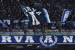 December 19, 2017 - Naples, Italy - SUPPORTERS OF NAPLES during the TIM Cup match between SSC Napoli and Udinese Calcio at Stadio San Paolo on December 19, 2017 in Naples, Italy. (Credit Image: © Paolo Manzo/NurPhoto via ZUMA Press)