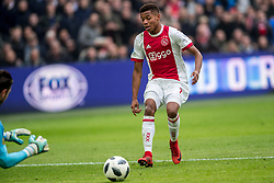 21-01-2018 NED: AFC Ajax - Feyenoord, Amsterdam<br /> Ajax was met 2-0 te sterk voor Feyenoord / David Neres #7 of AFC Ajax