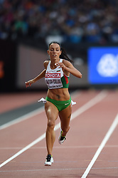 August 8, 2017 - London, England, United Kingdom - Ivet LALOVA-COLLIO, Bulgaria,  during 200 meter  heats in London at the 2017 IAAF World Championships athletics on August 8, 2017. (Credit Image: © Ulrik Pedersen/NurPhoto via ZUMA Press)