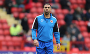 Reading defender Anton Ferdinand (15) during the Sky Bet Championship match between Charlton Athletic and Reading at The Valley, London, England on 27 February 2016.
