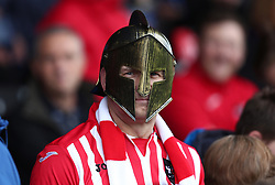 An Exeter City fan - Mandatory by-line: Gary Day/JMP - 18/05/2017 - FOOTBALL - St James Park - Exeter, England - Exeter City v Carlisle United - Sky Bet League Two Play-off Semi-Final 2nd Leg