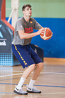 Juancho Hernangomez during the Spain training session before EuroBasket 2017 in Madrid. August 02, 2017. (ALTERPHOTOS/Borja B.Hojas)