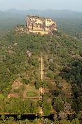 Sigiriya - the rock and the pleasure gardens.