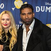 NLD/Amsterdams/20190326 - Filmpremiere Dumbo, edwin Jonker en partner