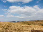 Open moor on Cefn Mawr in the West Brecon Beacons Mountains, Wales