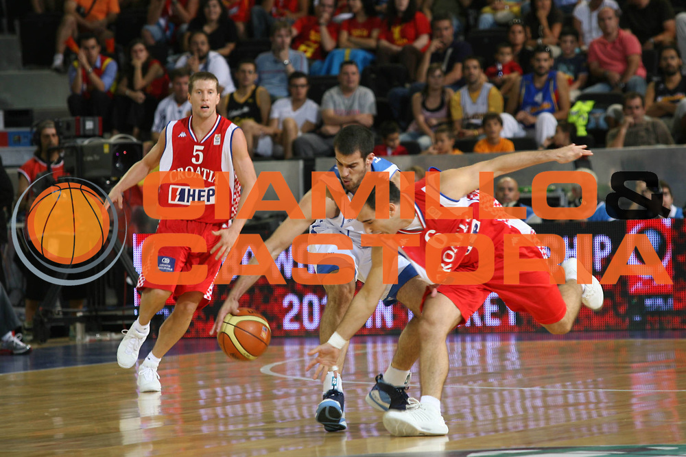 DESCRIZIONE : Madrid Spagna Spain Eurobasket Men 2007 Qualifying Round Israele Croazia Israel Croatia <br /> GIOCATORE : Marko Popovic <br /> SQUADRA : Croazia Croatia <br /> EVENTO : Eurobasket Men 2007 Campionati Europei Uomini 2007 <br /> GARA : Israele Croazia Israel Croatia <br /> DATA : 07/09/2007 <br /> CATEGORIA : Contesa <br /> SPORT : Pallacanestro <br /> AUTORE : Ciamillo&amp;Castoria/M.Metlas <br /> Galleria : Eurobasket Men 2007 <br /> Fotonotizia : Madrid Spagna Spain Eurobasket Men 2007 Qualifying Round Israele Croazia Israel Croatia <br /> Predefinita :