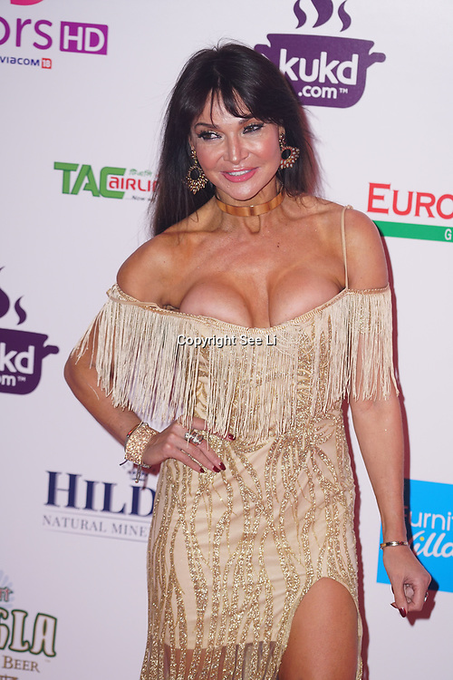 Battersea Evolution London, England, UK, 27th November 2017. Lizzie Cundy attend the British Curry Awards, London, UK.