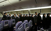 "First Thai passenger plane lands at Iran airport<br /> <br /> Thai Airways landed its first passenger flight on the Imam Khomeini International Airport yesterday (October 1), marking the 56th foreign airliner using Tehran's newly established airport, Irna reported.<br /> <br /> The airlines, which flew a Boeing 777-200 from Bangkok to Tehran, will have four flights weekly on the route, regional director of Thai Airways International Prin Yooprasert was quoted as saying in the Irna report.<br /> <br /> ""We hope to operate the flights on a daily basis,"" he said.<br /> <br /> Yooprasert announced that Thai Airways International owns 94 planes, which flies to 80 international destinations.<br /> <br /> Iran's Mahan Airline Company currently operates six flights each week via the same route, according to the report.<br /> ©Exclusivepix Media"