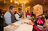 Chef Anne Burrell at her book signing in Chicago shot for the Food Network