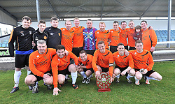Straide &amp; Foxford United winners of the Connaught Shield.<br /> Pic Conor McKeown