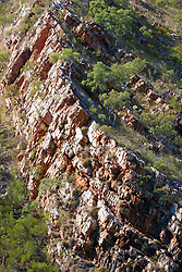Dramatic rock formations line Cyclone Creek inTalbot Bay on the Kimberley coast.