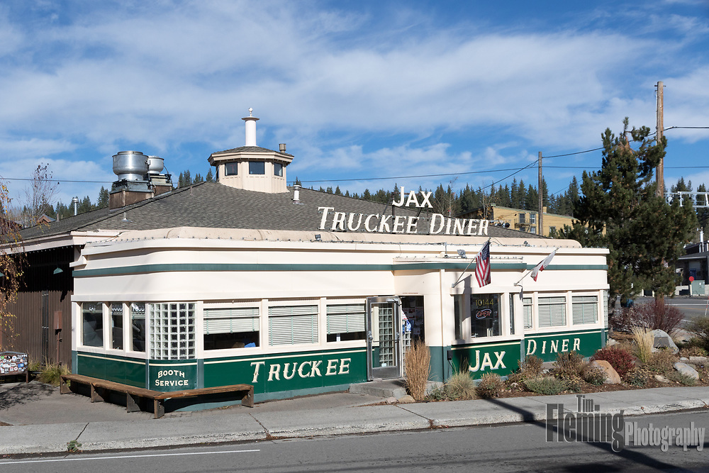 The historic town of Truckee, California is popular tourist destination with access to Lake Tahoe, Reno, and Donner Lake.