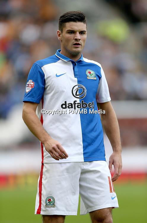Blackburn Rovers' Ben Marshall