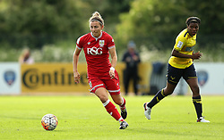 Grace McCatty defender for Bristol City Women runs with the ball - Mandatory by-line: Robbie Stephenson/JMP - 25/06/2016 - FOOTBALL - Stoke Gifford Stadium - Bristol, England - Bristol City Women v Oxford United Women - FA Women's Super League 2