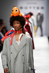 July 3, 2018 - Berlin, Germany - Models presents a collection of Botter during the first day of MBFW Berlin Fashion Weak in the ewerk showspace in Berlin, Germany on July 3, 2018. (Credit Image: © Dominika Zarzycka/NurPhoto via ZUMA Press)