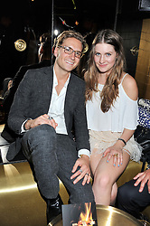 OLLIE PROUDLOCK and MOLLY WHITEHALL at the Johnnie Walker Gold Label Reserve Launch Party at Whisky Mist, 35 Hertford Street, London on 18th July 2012.